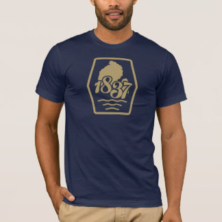 1837 der Great Lakes Staat T-Shirt