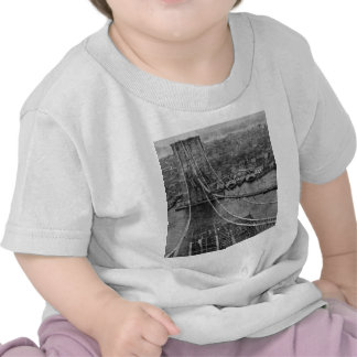 1870s New- York CityBrooklyn-Brücken-Bau Shirts
