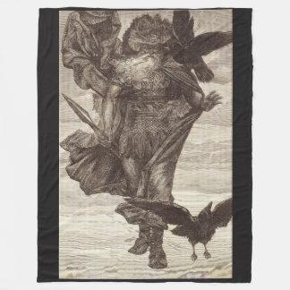 1871 Odin, Skandinavier-Gott des Krieges Fleecedecke