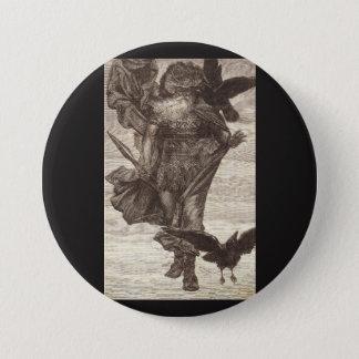 1871 Odin, Skandinavier-Gott des Krieges Runder Button 7,6 Cm