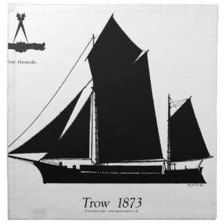1873 trow - tony fernandes stoffserviette