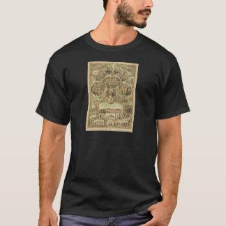 1876 hundertjährige Unabhängigkeit Amerikas T-Shirt