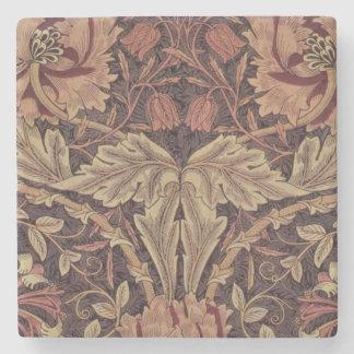1876 Vintages Geißblatt Williams Morris Steinuntersetzer