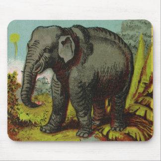 1880s Antique Elephant Mousepad