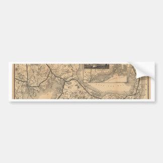 1888_Old_Colony_Railroad_Cape_Cod_map Autoaufkleber