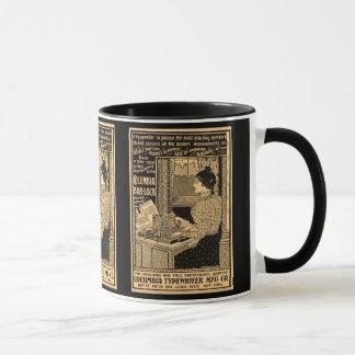 1890's Sekretär an der Schreibmaschine Tasse