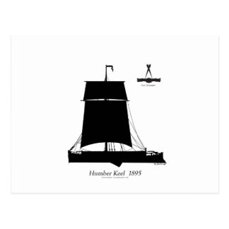 1895 Humber Kiel - tony fernandes Postkarte