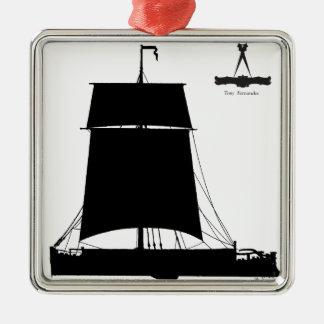 1895 Humber Kiel - tony fernandes Silbernes Ornament