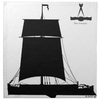 1895 Humber Kiel - tony fernandes Stoffserviette