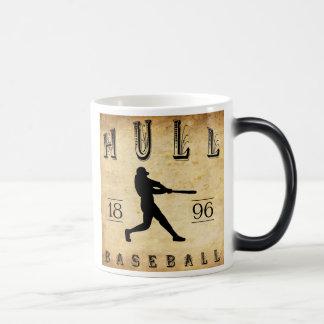 1896 Rumpf-Massachusetts-Baseball Verwandlungstasse