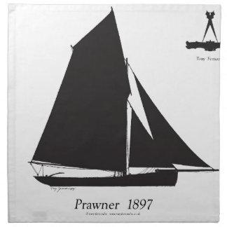 1897 Prawner - tony fernandes Serviette