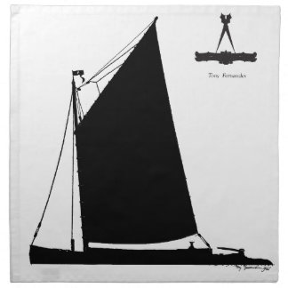 1898 NorfolkWherry - tony fernandes Stoffserviette