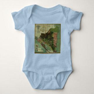 1898 offizielle Karte Nicaragua Baby Strampler