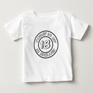 18 BIRTHDAY BABY T-SHIRT