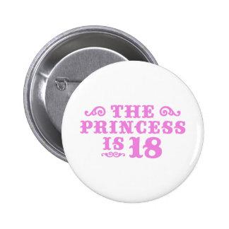 18. Geburtstag Runder Button 5,1 Cm