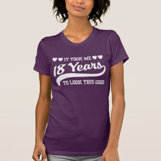 18. Geburtstag T Shirt