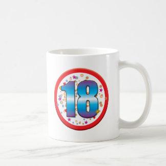 18. Geburtstag v2 Kaffeetasse