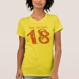 18. Geburtstags-Geschenk achtzehn V005K T-Shirt