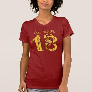 18. Geburtstags-Geschenk achtzehn V005M T-Shirt