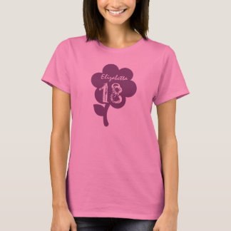 18. Geburtstags-Geschenk-großer T-Shirt