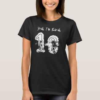 18. Geburtstags-Geschenk-individueller Name für T-Shirt