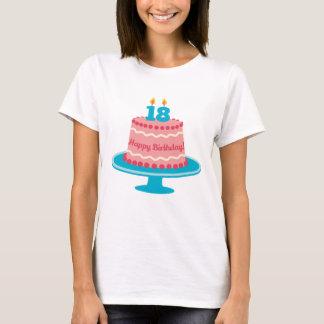18. Geburtstags-Kuchen T-Shirt