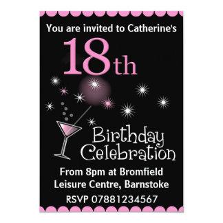 18. Geburtstags-Party Einladung
