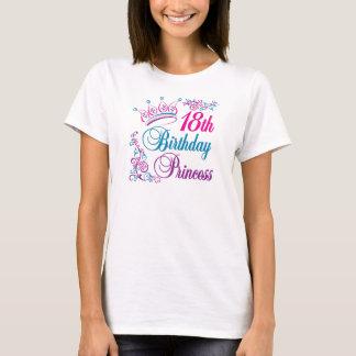 18. Geburtstags-Prinzessin T-Shirt