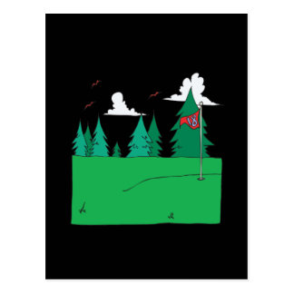 18. Loch Postkarte