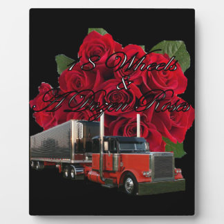 18 Räder und Dutzend Rosen Fotoplatte
