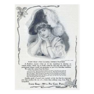 1908! STRAUSS VERSIEHT NEUE WIEDER POSTKARTE
