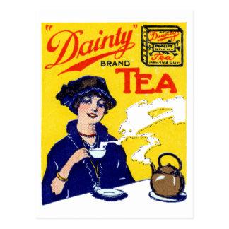 1910 Köstlichkeits-Tee Postkarte