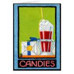 1910 Süßigkeiten Karten