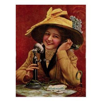 1910s Schatz auf einer Postkarte