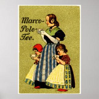 1915 genießen Sie Marco Polo-Tee Poster