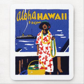 1920 Aloha von Hawaii Mauspads