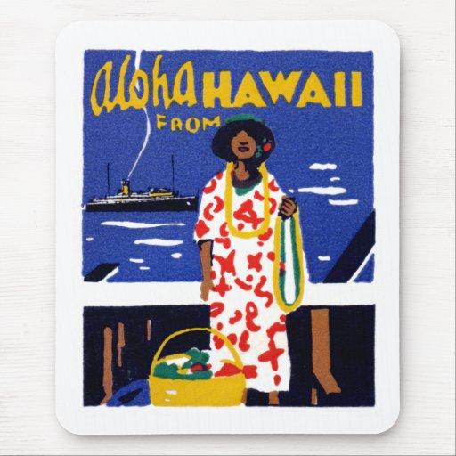 1920 Aloha von Hawaii Mousepad