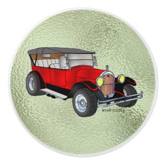 1923 bereisendes Olds, Rot - Keramikknauf