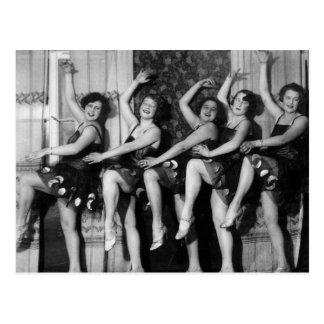 1928 Tänzer Postkarte