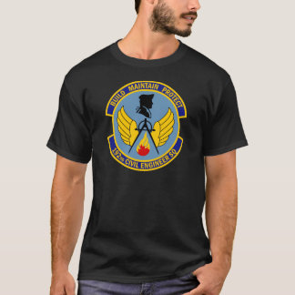 192nd Ziviles Ingenieur-Geschwader T-Shirt