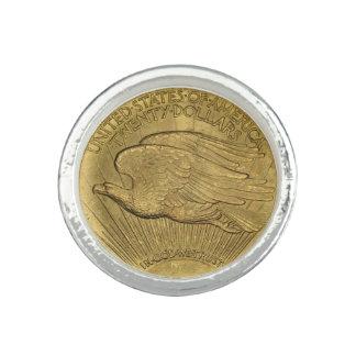 1933 doppelte Eagle Goldmünze Ring