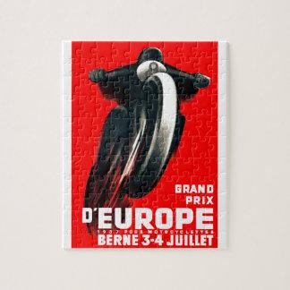 1939 Europäer-Grand- Prixmotorrad, das Plakat Puzzle