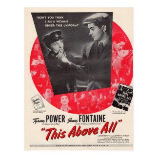 1942 dieses vor allem Filmplakat Postkarte