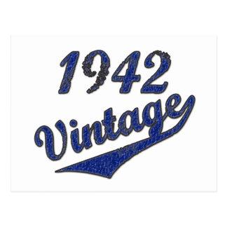 1942 Vintag Postkarte