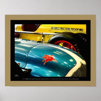 1947 u. 1950 Automobile - Detail Poster