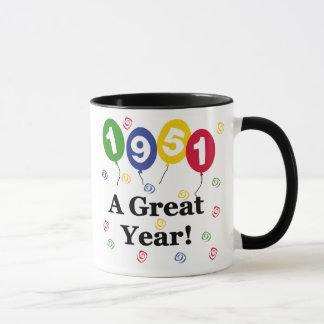 1951 ein großes Jahr-Geburtstag Tasse