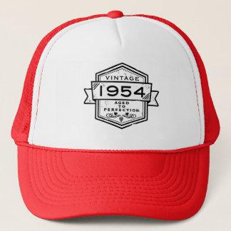 1954 gealtert zur Perfektion Truckerkappe