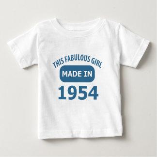 1954-jährige fabelhafte Entwürfe Baby T-shirt