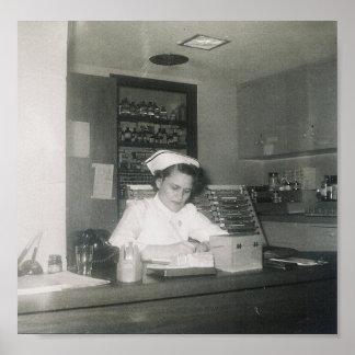 1956 KRANKENSCHWESTER #11 POSTER