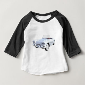 1961 Weiß Korvette Baby T-shirt